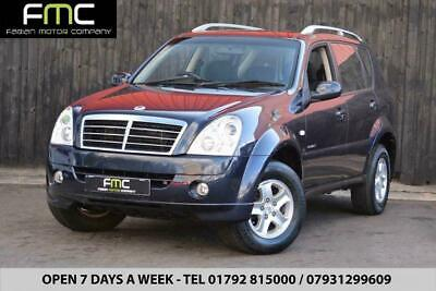 2009 Ssangyong Rexton 2.7TD Auto 4X4 **Service History - Great Value**