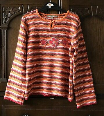 Girls Vintage Style French Jumper  7-8 Years