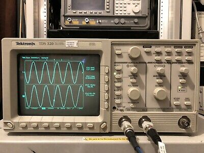 Tektronix Oscilloscope TDS320 100MHz Calibration if requested