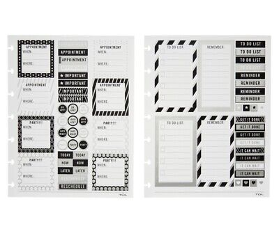Tul Office Products All Purpose Stickers 4 Sheets 2 Designs Limited Edition