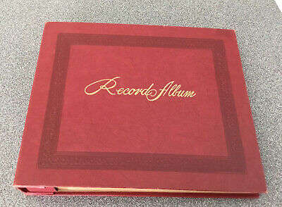 MINT Vintage Decca 45 RPM Record Storage Book-book holds 15 records