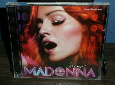 Madonna Sorry 6 Track Maxi-Cd Single New Let It Will Be Confession On The Dance