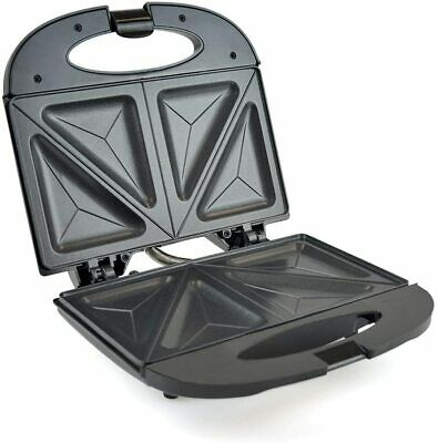 Lloytron Kitchen Perfected Black Sandwich Toaster