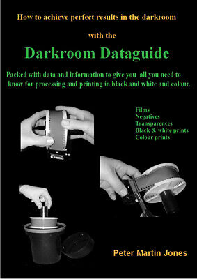 The Darkroom Dataguide (Sold as instant PDFdownload to purchaser)