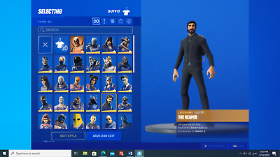 rare season 3 fortnite account | world cup skin | john wick | omega | elit agent
