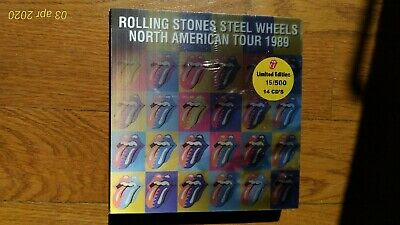 Rolling Stones - Steel wheels north american tour 1989 - 14 cd