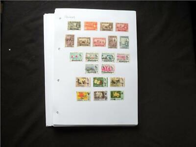 UPA6560 NR 117 pics BC (P-S) MINT & USED STAMP COLLECTION TAKE CARE! STUCK DOWN