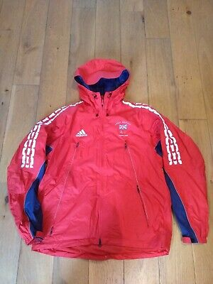 Official Team GB waterproof jacket. Turin 2006. Adidas. size40-42