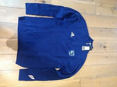 Official team GB Sweater. Vancouver 2010. Blue size 44-46. NWT. Lightweight wool