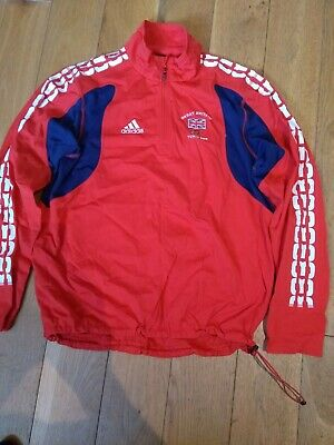 Adidas Team GB Winter Olympics Turin 2006 Men's Jacket Size 46/48 - Official