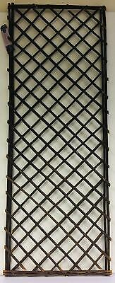 Straight Top Willow Panel - Willow Trellis Panel - 120cm x 45cm approx