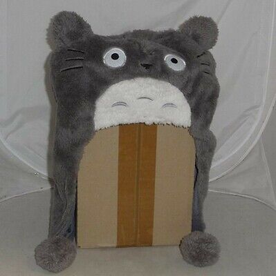 Hat Beanie Ear Cover Totoro Version A Pom Poms Anime Manga Cosplay