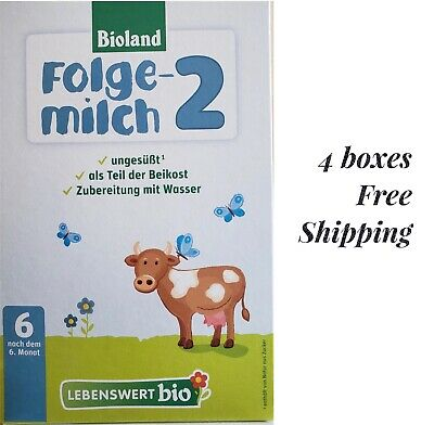 Holle Lebenswert Organic Stage 2, 4 boxes, exp 05/21