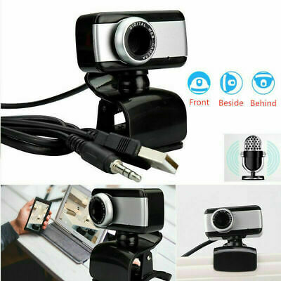 Webcam Con Microfono Hd 720X1280 Usb Videocamera Smart Working Zoom Skype Camera
