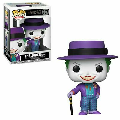 Funko Pop! Heroes: Batman - The Joker (Batman 1989) #337 Nib In Stock