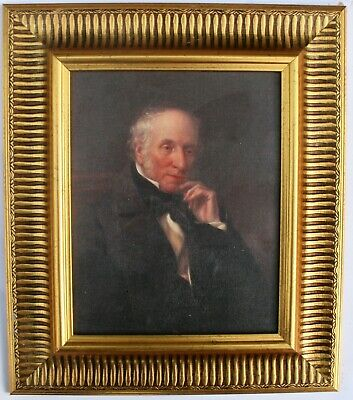 William Wordsworth Framed Oleograph R560#E Reproduction Picture , Art - Poet