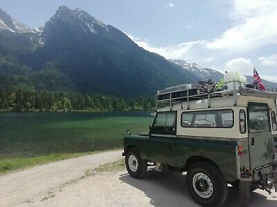 "Landrover series 2a 88"" Overlander camper 1967 off road expedition ready bug out"