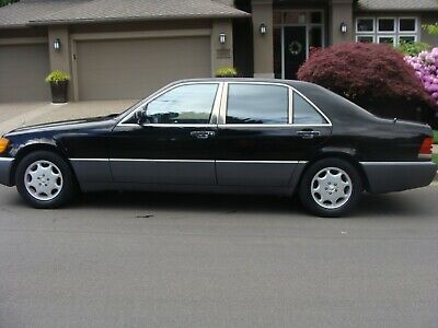 1993 500-Series  1993 Mercedes 500 SEL, all original, adult owned, rust free, NO RESERVE