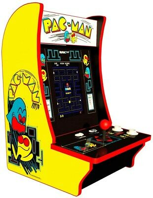 Arcade 1Up Pacman Countercade, Tabletop Design