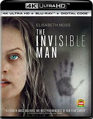 The Invisible Man 4K UHD Blu=ray Free Shipping PreOrder release 5/26/20