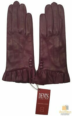 Dents Ladies Sheepskin Leather Gloves Lining GIFT Winter Womens LL2102 Lined