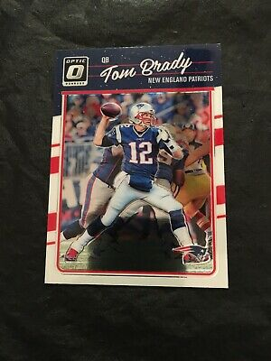 Tom Brady 2016 Donruss Optic #62 New England Patriots 1st Year Optic