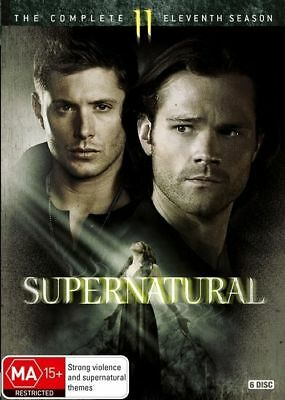 Supernatural Season 11 DVD NEW