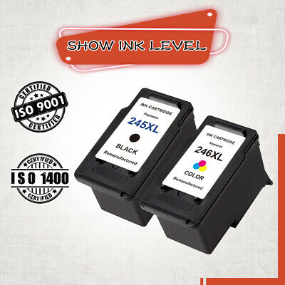 245 XL Black & 246XL Color Ink Cartridge for Canon MG2525 MG3022 MG2522 MG2922