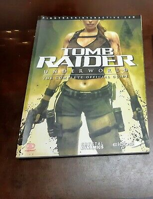 Tomb Raider Underworld Official Strategy Game Guide Piggyback Interactive Book