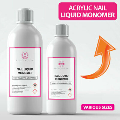 Nail Monomer Gel Acrylic Liquid Monomer by LOTUS BLOOM - Professional Quality