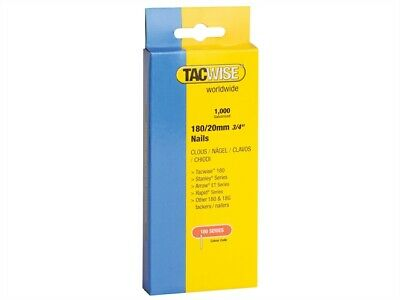Tacwise TAC0360 180 18 Gauge 20mm Nails Pack 1000