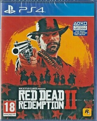 Playstation 4 Red Dead Redemption II  (PS4) BRAND NEW UK Video Games