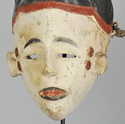 TRES GRAND MASQUE IGBO IBO LARGE MASK 73 cm Nigeria Art Africain