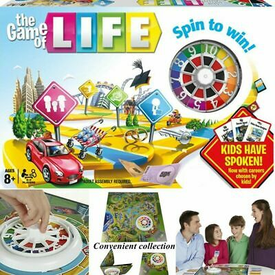 The Game of Life Board Game Home Children Kids Card Family Party Games Gift UK