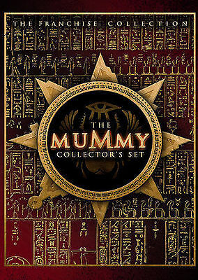 The Mummy, The Scorpion King Collectors Set (DVD, 2005, 3-Disc Set 3 Movies
