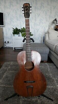 1920s-30s First National Institute of Allied Arts of America Parlour Guitar