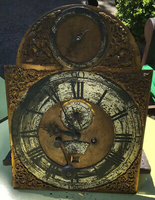 Grandfather Clock Face