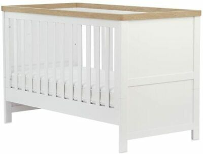 Mothercare Lulworth Cot Bed - White - RRP £399.00