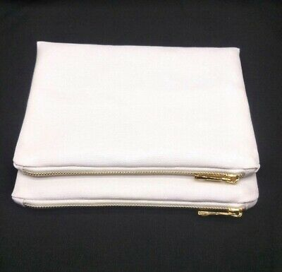 100% polyester sublimation blank cosmetic bag for handmade project 10x7 inches