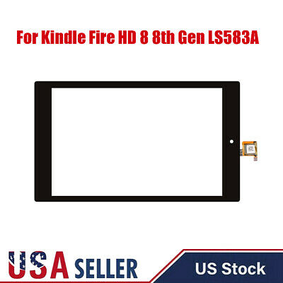 For Amazon Kindle Fire HD8 8th Gen L5s83a Touch Screen Digitizer Replace f8 USA