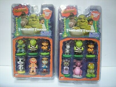 DreamWorks SHREK Fairytale Friends NEW  Collectibles toys or cake toppers