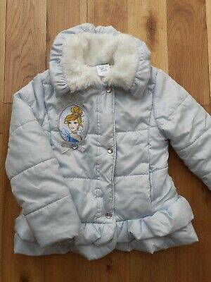 Disney store Cinderella girls coat age 5-6