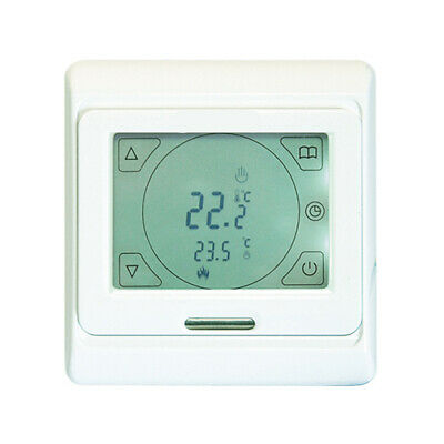Underfloor Heating Electric Touchscreen Programmable Thermostat