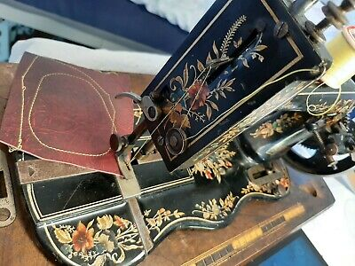 "Antique Atlas ""Singer 12K Style"" Sewing Machine"
