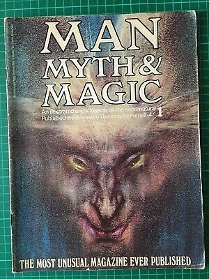 Man Myth and Magic Magazine Issue 1 - Pagan Wicca Spirituality Witchcraft 1970