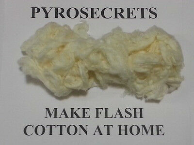 DIY Flash Paper & Cotton MAKE NITROCELLULOSE at Home GUIDE Pyrotechnics, Magic