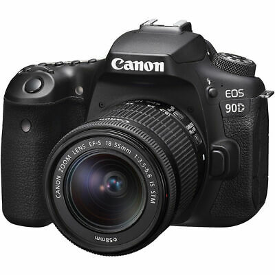 Canon EOS 90D 32.5 MP DSLR Camera with 18-55mm IS STM Lens 3616C009