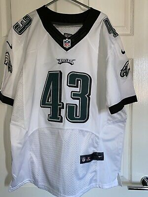 Official Philadelphia Eagles Darren Sproles Nike Home  White Jersey Extra Large