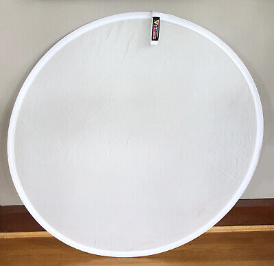 """Photoflex 42"""" Round Collapsable Lite Disc- Diffuser with Bag- 2 Stops"""
