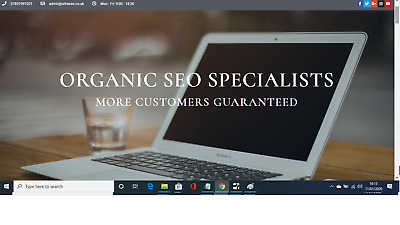 Online Marketing Business For Sale 1st Page